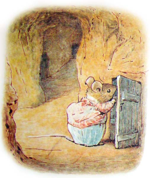 the tale of mrs  tittlemouse Беатрис Поттер  Повесть о миссис Мыштон