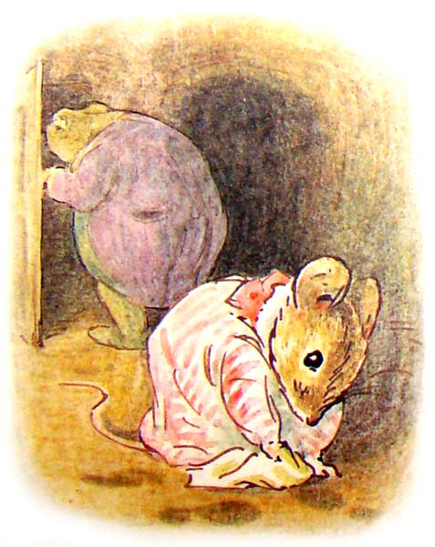 the tale of mrs  tittlemouse Сказки Беатрис Поттер  Повесть о миссис Мыштон