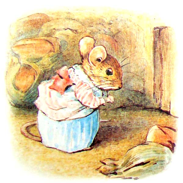 the tale of mrs  tittlemouse Повесть о миссис Мыштон. Сказки Беатрис Поттер
